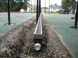 New drainage