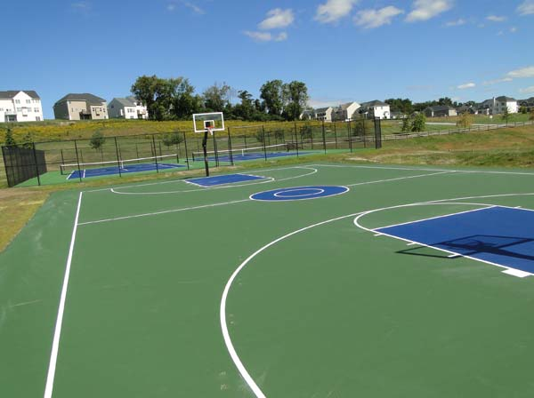 Sports courts prosport construction inc for Sport court
