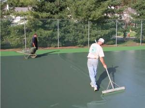 Installation of coatings